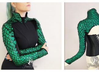 Dragon Scale Bolero Sewing Pattern