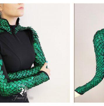Dragon Scale Bolero Sewing Pattern