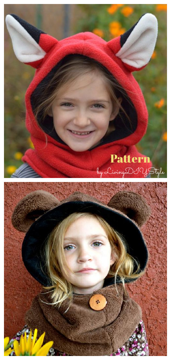 Hoodie with Ears Sewing Pattern