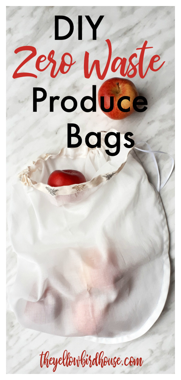 Zero Waste Produce Bags Free Sewing Pattern