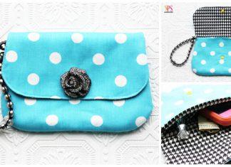 Elegant Wristlet Clutch Bag Free Sewing Pattern