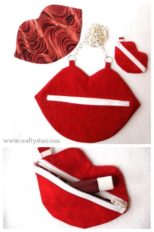 Kiss Bag Free Sewing Pattern