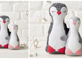 Penguin Softie Toy Free Sewing Pattern