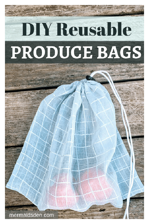 Reusable Produce Bags Free Sewing Pattern