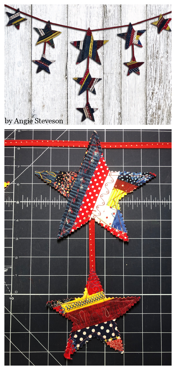 Star Banner Free Sewing Pattern