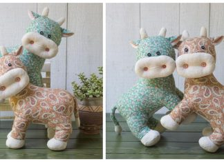 Stuffed Cow Sewing Patterns
