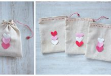 Valentine's Day Goody Bag Free Sewing Pattern