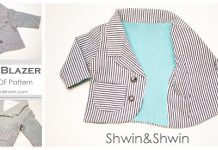 Baby Blazer Free Sewing Pattern