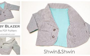 Baby Blazer Free Sewing Pattern