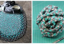 Braided T-Shirt Rug Free Sewing Pattern