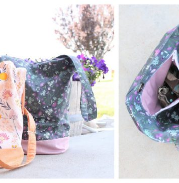 Crossbody Purse Free Sewing Pattern