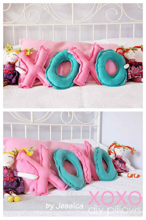 DIY XOXO Pillows Tutorial