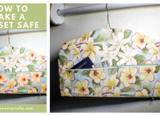 Fabric Closet Safe Free Sewing Pattern