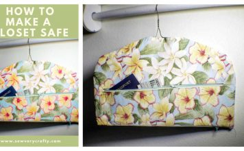 Fabric Closet Safe Free Sewing Pattern