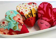 Heart-Shaped Love Bug Free Sewing Pattern