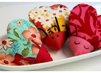 Heart-Shaped Love Bug Free Sewing Pattern