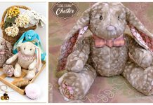 Long Eared Bunny Toy Free Sewing Pattern