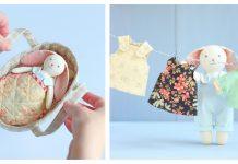 Mini Bunny Play Set Sewing Pattern