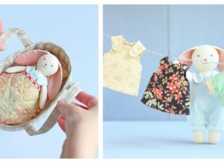 Mini Bunny Play Set Sewing Pattern