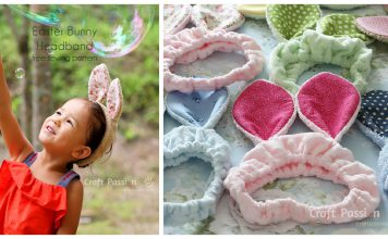 Bunny Ears Headband Free Sewing Pattern