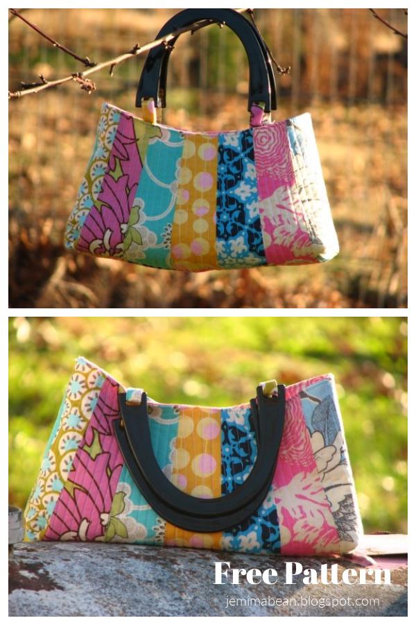 Dresden Petal Handbag Free Sewing Pattern
