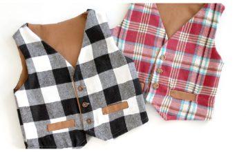 Kids Vest Free Sewing Pattern
