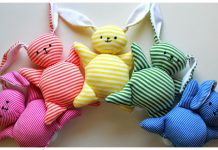 Mooshy Belly Bunnies Free Sewing Pattern