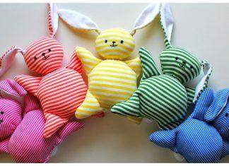 Mooshy Belly Bunnies Free Sewing Pattern