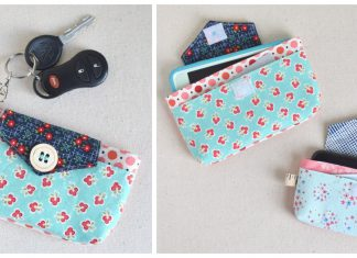 Phoebe Phone and ID Case Free Sewing Pattern