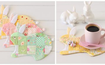 Bunny Coaster Sewing Pattern