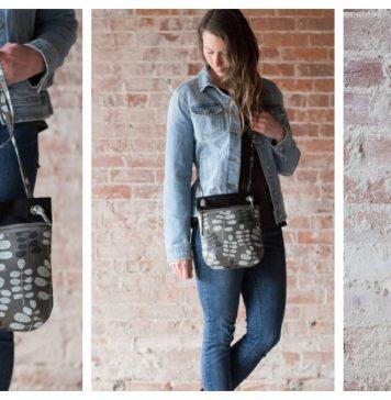 Forage Bag Free Sewing Pattern