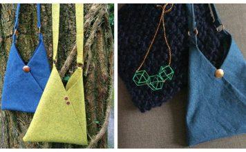 Origami Bag Free Sewing Pattern