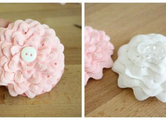 Ric Rac Flower Free Sewing Pattern