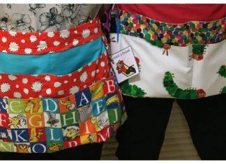 Teacher Apron Free Sewing Pattern
