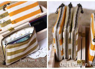 Zipper Card Pouch Free Sewing Pattern