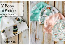 Baby Hat Free Sewing Pattern