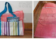 Beach Towel Tote With Pillow Free Sewing Pattern