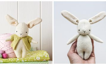 Cute Easter Bunny Free Sewing Pattern