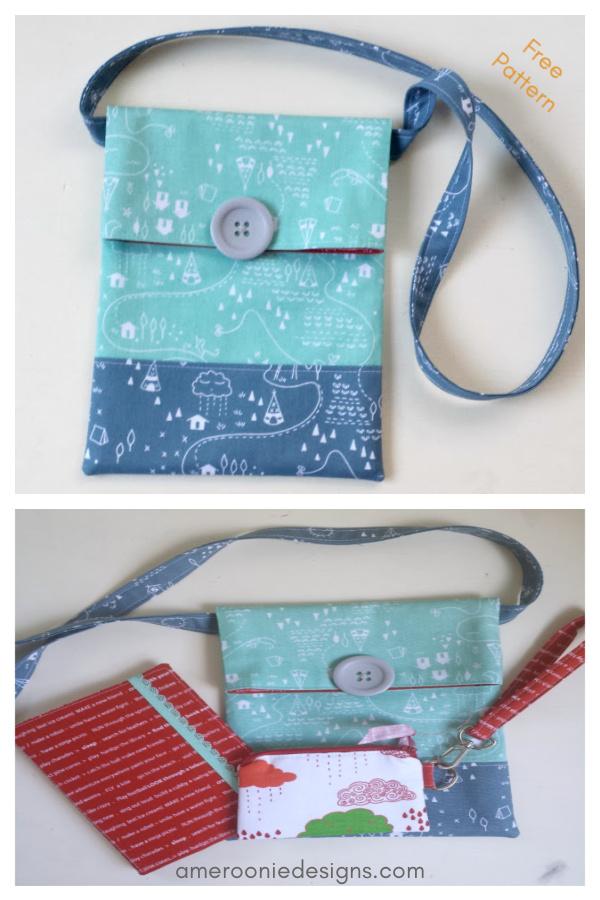 Simple Sling Bag Free Sewing Pattern