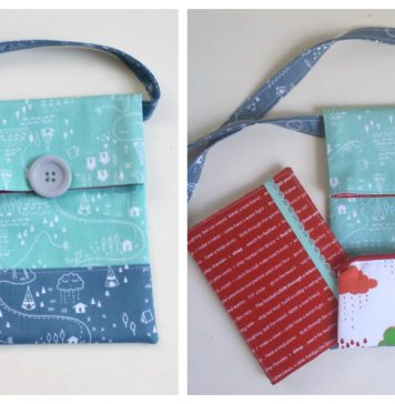 Simple Sling Bag Free Sewing Pattern