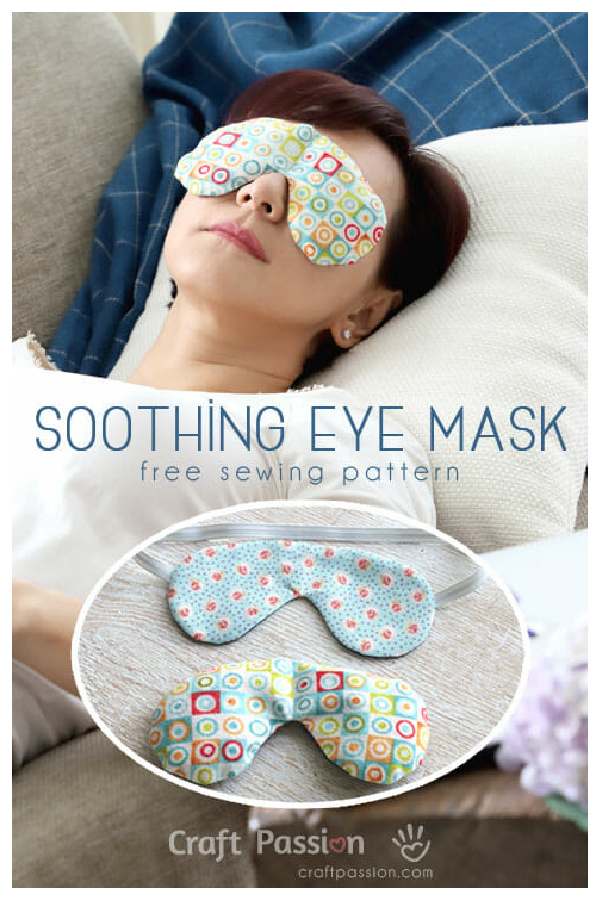 Soothing Eye Mask Free Sewing Pattern