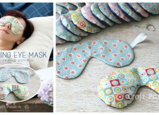 Soothing Eye Mask Free Sewing Pattern