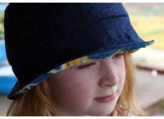 Summer Lovin' Children's Sun Hat Free Sewing Pattern