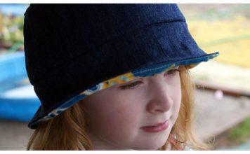 Summer Lovin' Children's Sun Hat Free Sewing Pattern