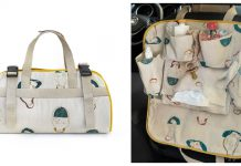 Travel Organizer for the Car Free Sewing Pattern