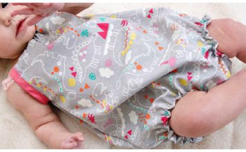 Baby Bubble Romper Free Sewing Pattern