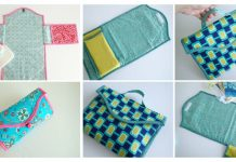 Baby Changing Mat Free Sewing Pattern