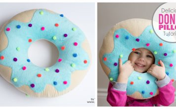 Donut Pillow Free Sewing Pattern