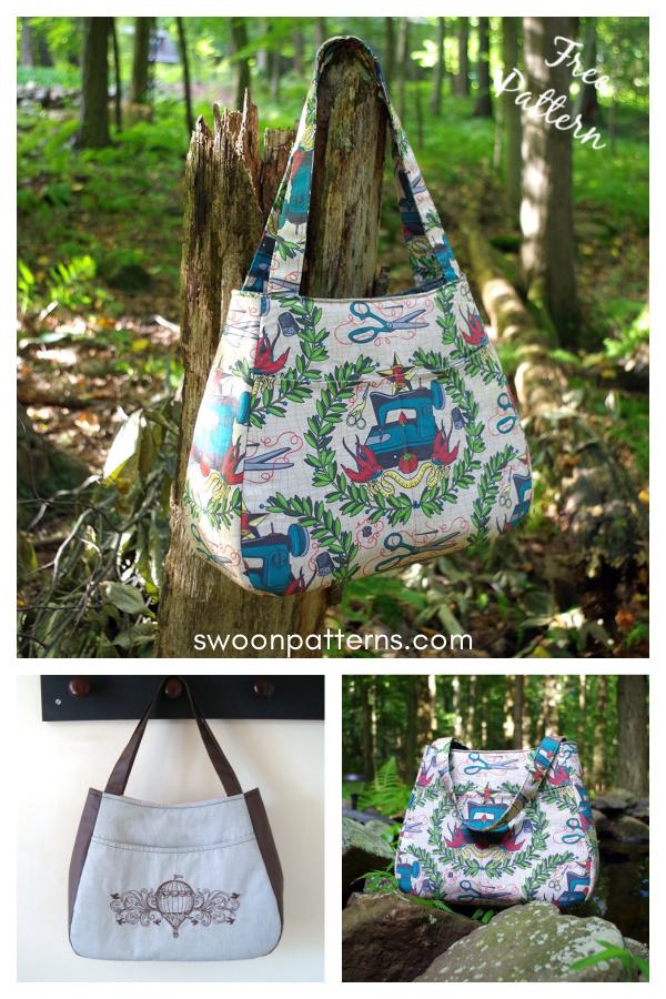 Ethel Tote Bag Free Sewing Pattern