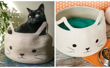 How to Make Rope Bowl Cat Bed Video Tutorial